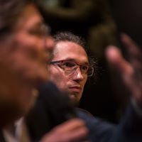 """Conférence sur la """"post-vérité"""" le 20 novembre à l'Opéra de Lyon. Festival (Re)faire société : mode d'emploi. ©Bertrand Gaudillère / Item"""